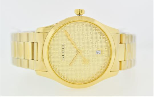 Gucci G-Timeless Stainless Bracelet Diamante Dial Mens YA126461 Image 10