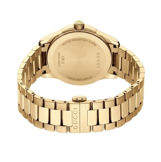 Gucci G-Timeless Stainless Bracelet Diamante Dial Mens YA126461 Image 7