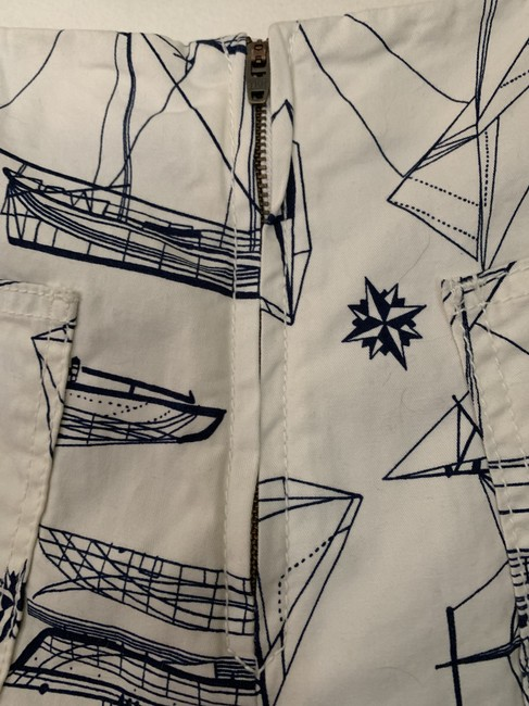 Tory Burch Skort blue and white Image 6