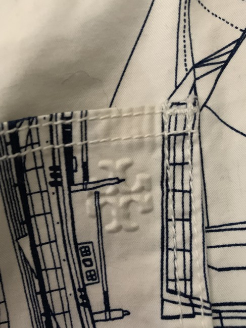 Tory Burch Skort blue and white Image 7