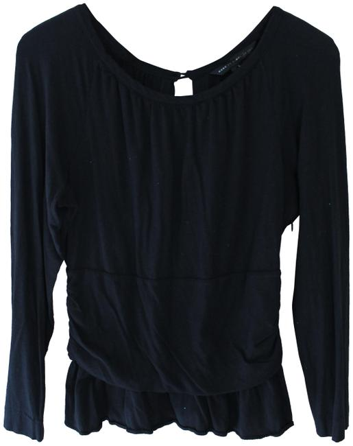 Preload https://img-static.tradesy.com/item/25482962/marc-by-marc-jacobs-black-l-womens-long-sleeve-open-pima-cotton-blouse-size-12-l-0-1-650-650.jpg