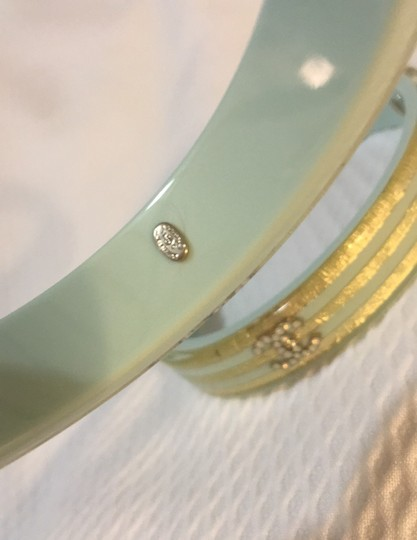 Chanel Chanel blue gold bangle 2 Image 1