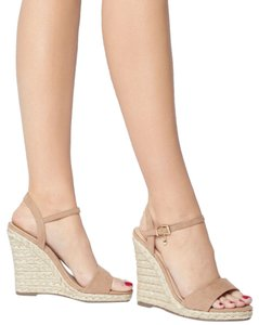 Office Espadrille Never Worn London Us Size 9 Nude Wedges