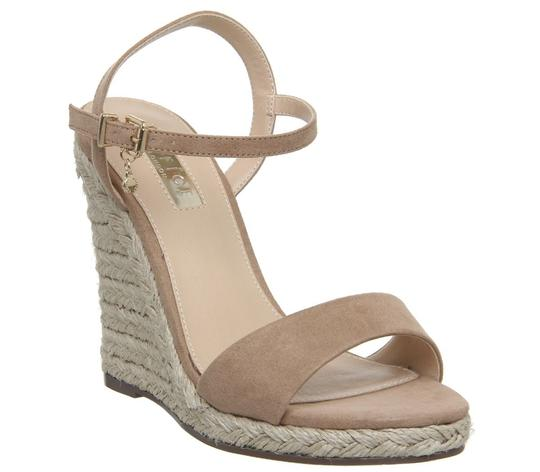 Office Espadrille Never Worn London Us Size 9 Nude Wedges Image 1