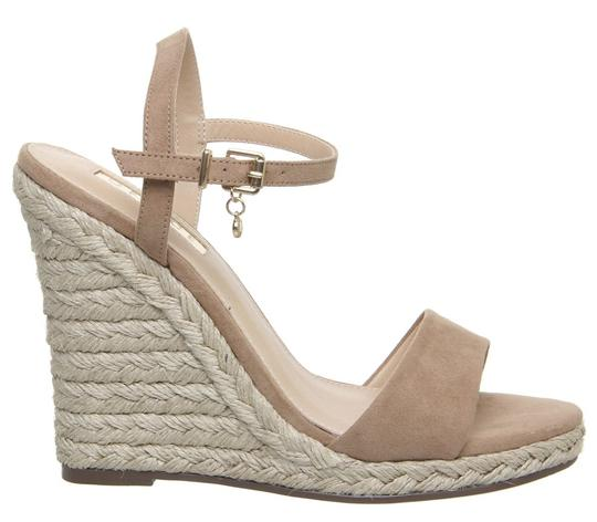 Office Espadrille Never Worn London Us Size 9 Nude Wedges Image 2