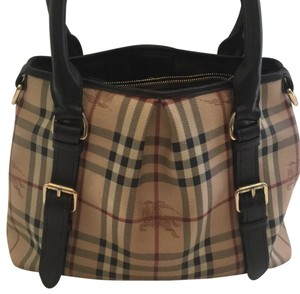 Burberry Satchel in brown check