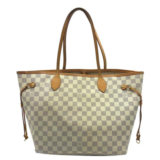 Preload https://img-static.tradesy.com/item/25484244/louis-vuitton-neverfull-mm-2012-white-damier-azur-canvas-tote-0-0-540-540.jpg