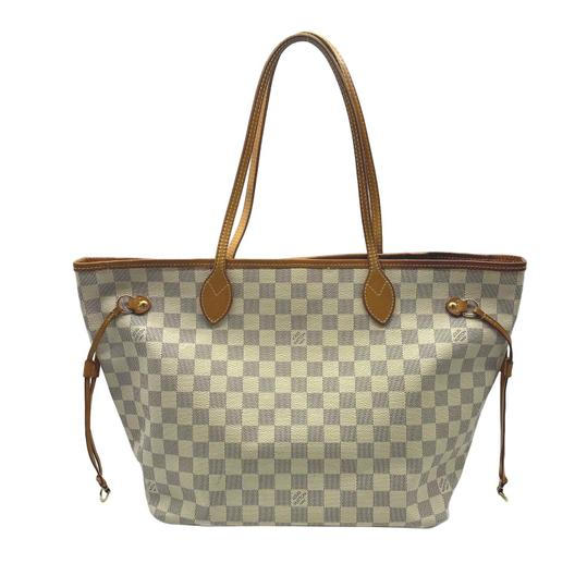Louis Vuitton Tote in White Image 11