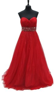 Josh and Jazz Jolene Strapless Prom Pagenat Homecoming Dress
