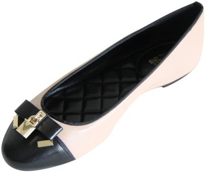 Michael Kors Lock Charm Bow Color-blocking Multicolor Flats