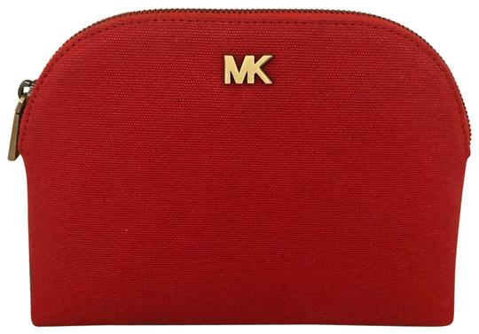 Preload https://img-static.tradesy.com/item/25484467/michael-kors-lt-terracotta-pouch-travelcosmetic-pouch-cosmetic-bag-0-1-540-540.jpg