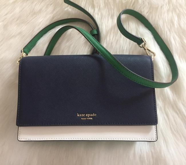 Item - Cameron Street Green Leather Clutch