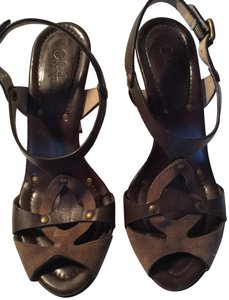 ae5441611bc5c Brown Cole Haan Sandals Slim Up to 90% off at Tradesy