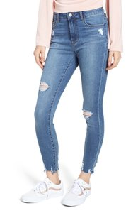 Articles of Society Distressed High Street Skinny Jeans-Distressed