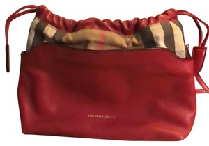 Burberry Military Red Clutch