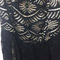 Torrid Black White Plus Special Occasion Lace Midi Off The Shoulder Mid-length Short Casual Dress Size 14 (L) Torrid Black White Plus Special Occasion Lace Midi Off The Shoulder Mid-length Short Casual Dress Size 14 (L) Image 7