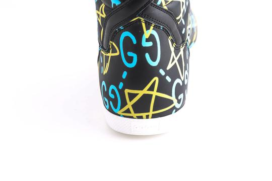 Gucci Black Ghost High-top Sneakers In Guccighost Print Shoes Image 10