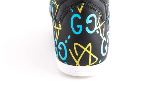 Gucci Black Ghost High-top Sneakers In Guccighost Print Shoes Image 9