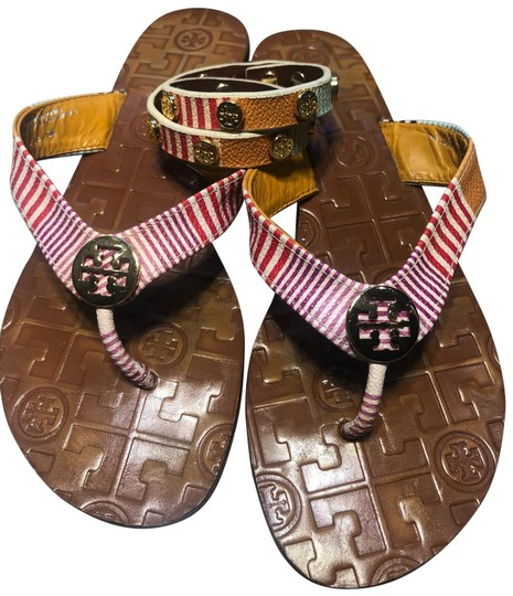 Preload https://img-static.tradesy.com/item/25485270/tory-burch-multicolor-leather-thong-with-matching-bracelet-sandals-size-us-6-regular-m-b-0-1-540-540.jpg