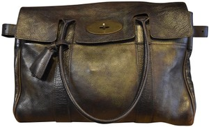 b0a3a0c754 Mulberry Leather Distressed Suede Tote in Brown
