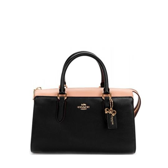 Preload https://img-static.tradesy.com/item/25485916/coach-handbag-black-leather-satchel-0-0-540-540.jpg
