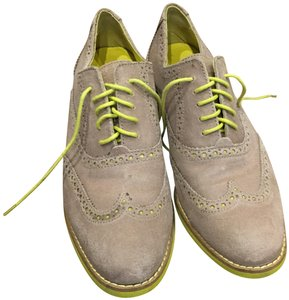 Cole Haan Oxfords Dress Grey & Yellow Flats