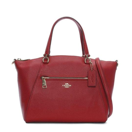 Coach Satchel in Red Image 2