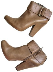 Pura Lopez Nappa Leather Brown Iron vision Boots