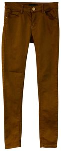 Stradivarius Skinny Pants Brown