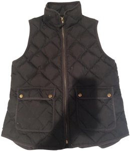 J.Crew Quilted Preppy Equestrian Vest