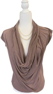 Charlotte Russe T Shirt Muted brown