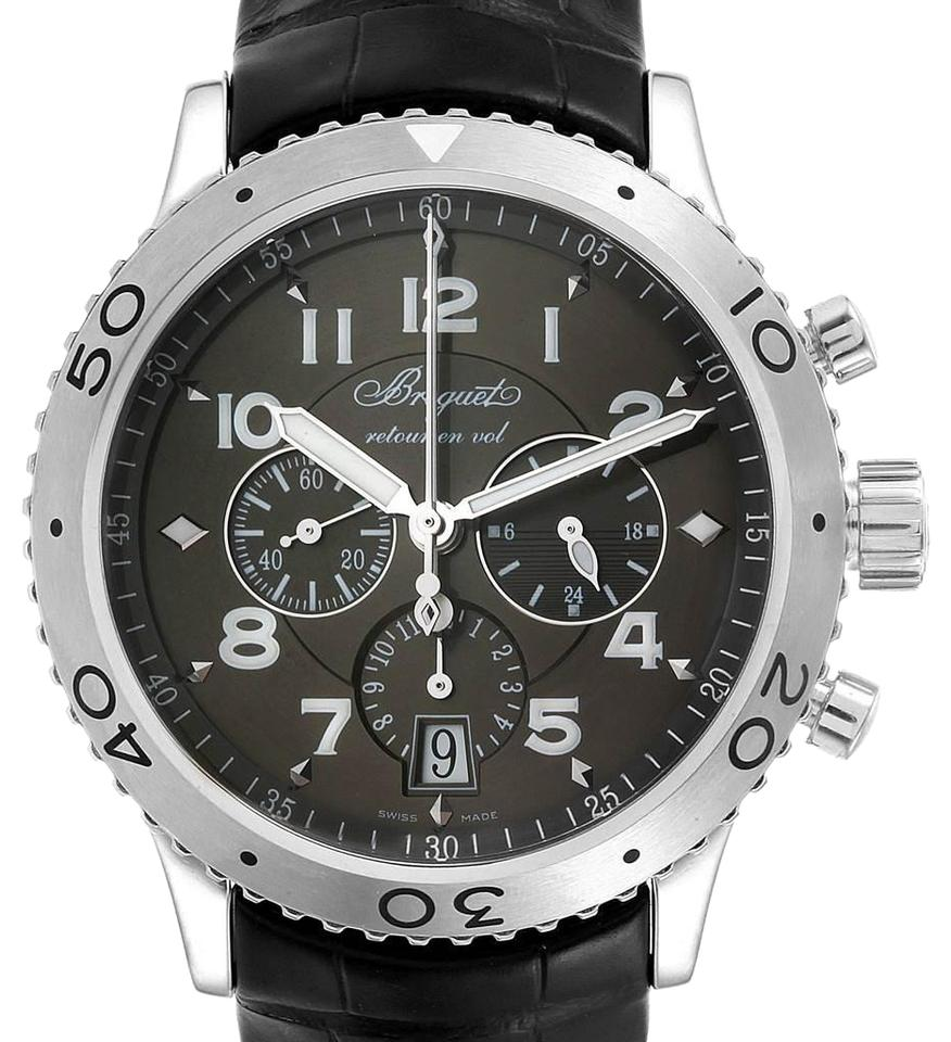 new arrival ade74 0327c Breguet Ruthenium Transatlantique Type Xxi Flyback Dial 3810st/9 Watch 35%  off retail
