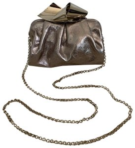 4c7d8f2dff Jimmy Choo Leather Chain Clutch Convertible Cross Body Bag