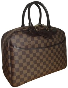 Louis Vuitton Damier Deauville Tote in Brown