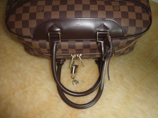 Louis Vuitton Damier Deauville Tote in Brown Image 3