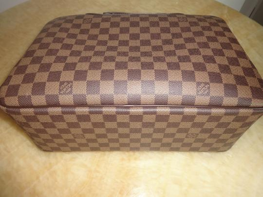 Louis Vuitton Damier Deauville Tote in Brown Image 7