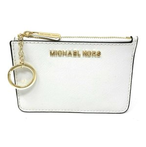 Michael Kors Michael Kors Jet Set Travel Small Leather Top Zip Coin Pouch With ID