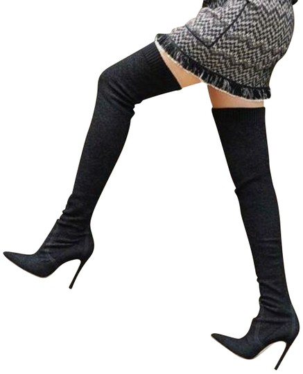 Preload https://img-static.tradesy.com/item/25487866/gianvito-rossi-black-fiona-boucle-over-the-knee-bootsbooties-size-eu-38-approx-us-8-regular-m-b-0-1-540-540.jpg