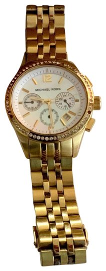 Michael Kors Gold studded watch Image 0