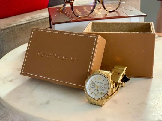 Michael Kors Gold studded watch Image 3