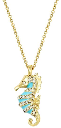 Preload https://img-static.tradesy.com/item/25488226/kate-spade-turquoise-gold-paradise-found-seahorse-pendant-necklace-0-1-540-540.jpg