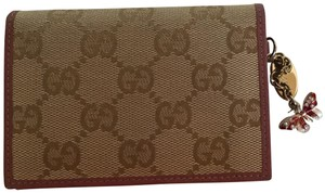 Gucci Gucci Wallet Butterfly #G090 Authenticity Verified