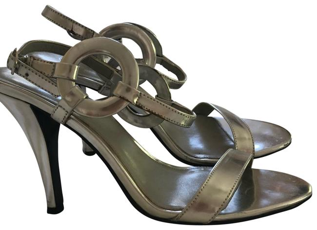 Item - Silver Formal Shoes Size US 7 Regular (M, B)