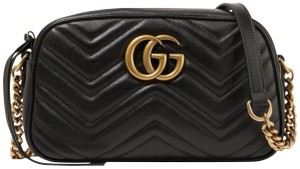 Gucci Leather Tote Cross Body Bag