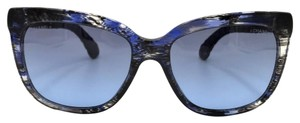 Chanel Brushed Square Denim Sunglasses 5343 1552/S2