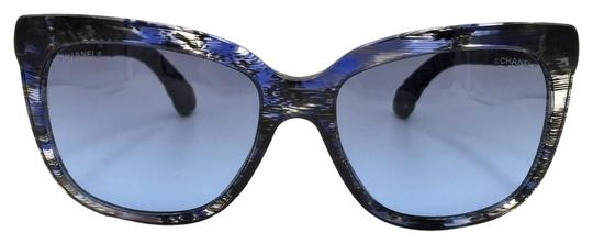 Chanel Brushed Square Denim Sunglasses 5343 1552/S2 Image 0