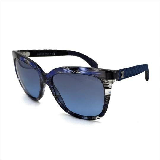 Chanel Brushed Square Denim Sunglasses 5343 1552/S2 Image 1