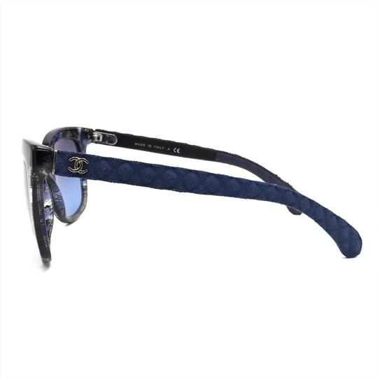 Chanel Brushed Square Denim Sunglasses 5343 1552/S2 Image 2
