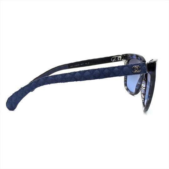 Chanel Brushed Square Denim Sunglasses 5343 1552/S2 Image 3