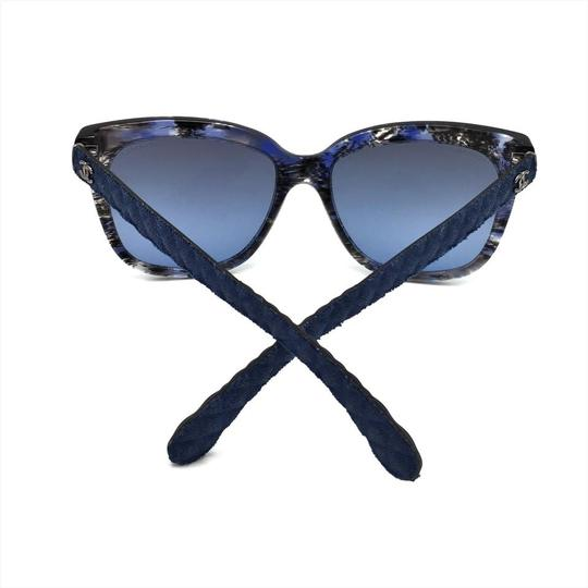 Chanel Brushed Square Denim Sunglasses 5343 1552/S2 Image 7
